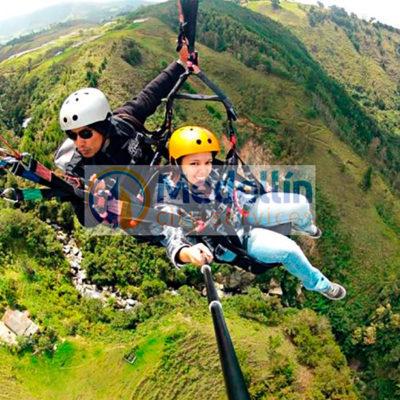 Paraglide The Andes - Medellin city tours