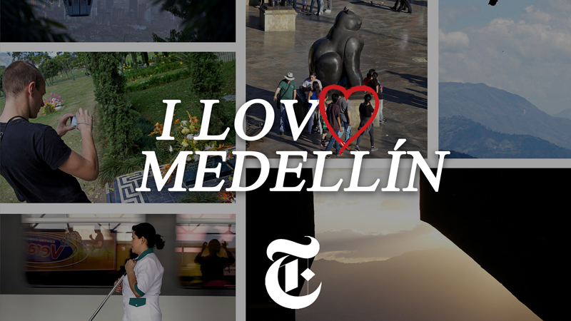 NY Times Vlog: I Just Got Back From Medellín!