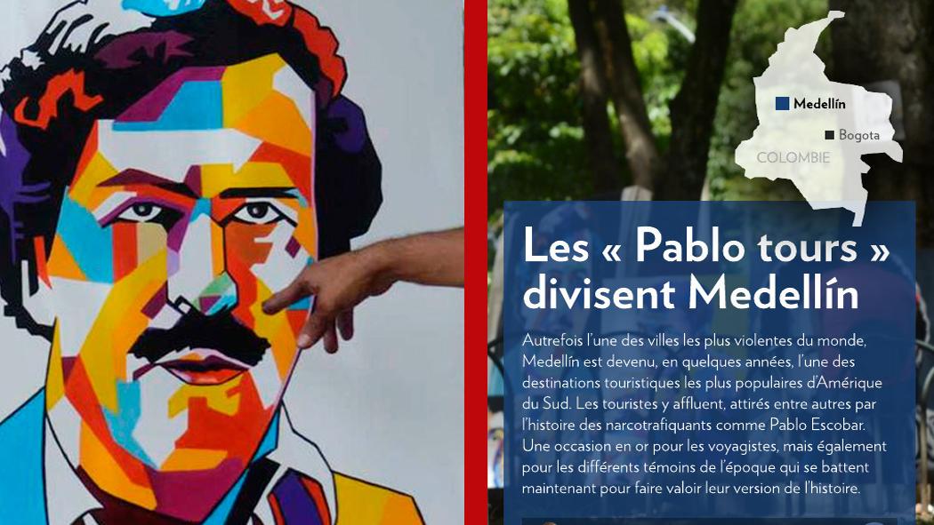 LES « PABLO TOURS » DIVISENT MEDELLÍN